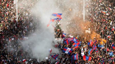 Масови протести в Сантяго, Чили