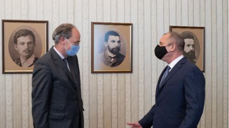 Christoph Eichhorn und Rumen Radew