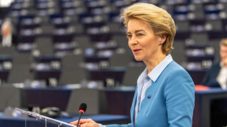 Реч на Урсула фон дер Лайен пред ЕП относно предстоящите търговски преговори с Великобритания