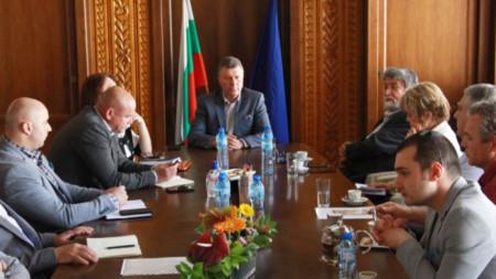 Идеята за Алея на джаза в Банско беше обсъдена на работна среща в курорта с участието на Вежди Рашидов.