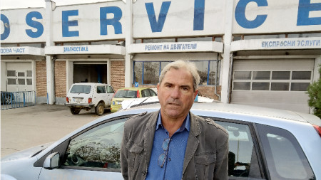 Александър Цацев, председател на Съюза на автомобилистите - Благоевград