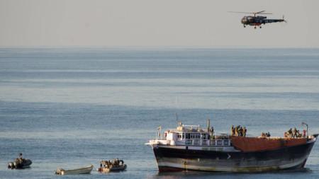 Антипиратска операция, 20 януари 2014 г.