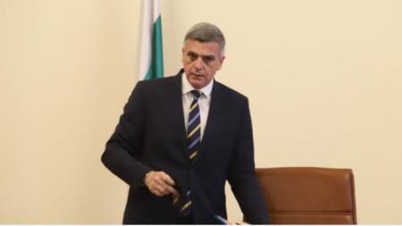 Caretaker PM Stefan Yanev