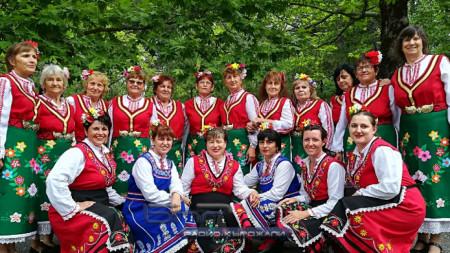 Фолклорна група от село Градина, общ. Първомай