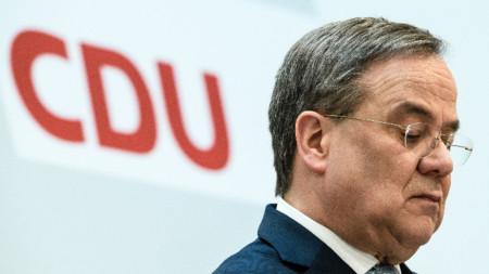 Новият председател на управляващия в Германия Християндемократически съюз Армин Лашет.