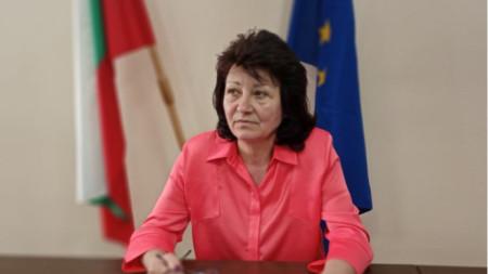 Председателката на РИК - Силистра, Марияна Чобанова