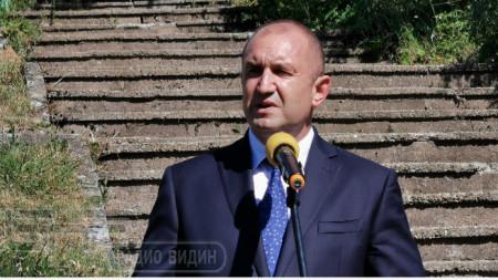 Bulgaria's President Rumen Radev
