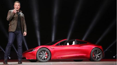 Илон Мъск, изпълнителен директор на Tesla Inc.