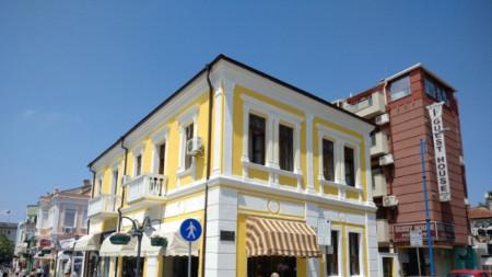 Целта е така да изглеждат всички стари сгради в Центъра на Бургас
