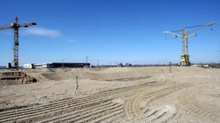 Belene NPP construction site
