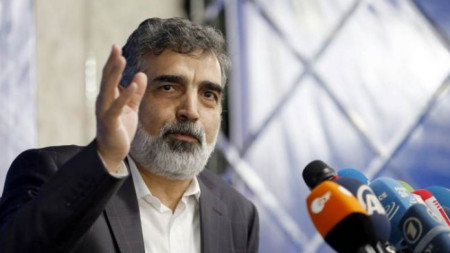 Бехруз Камалванди, говорител на Иранската агенция за атомна енергия