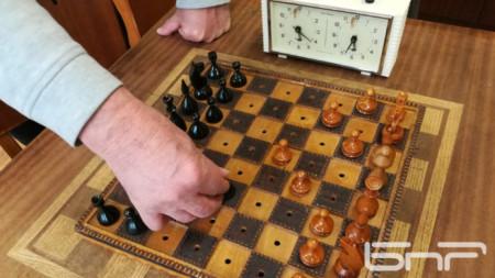 Шах дъска за незрящи