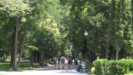 Цар Симеоновата градина в Пловдив.