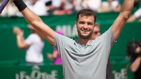 Григор Димитров се класира без игра за третия кръг на откритото първенство по тенис