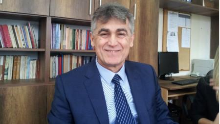 Проф. Георги Колев - ректор на Шуменския университет