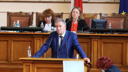 Д-р Стойчо Кацаров в Народното събрание - 7 септември 2021 г.