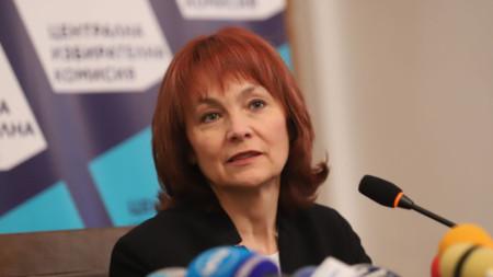 Говорителят на ЦИК Росица Митева