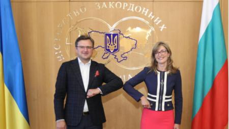 Дмитро Кулеба и Екатерина Захариева