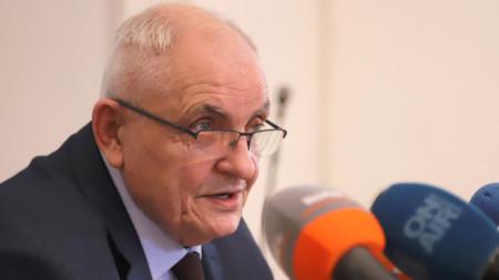 Говорителят на ЦИК Димитър Димитров даде брифинг - 1 април 2021 г.