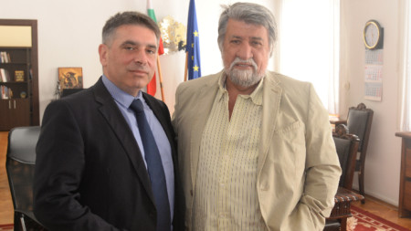 Данаил Кирилов и Вежди Рашидов
