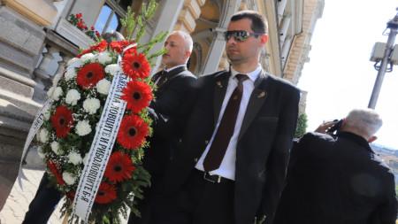 В Централния военен клуб се състоя поклонение пред ген. Никола Колев – началник на Генералния щаб на Българската армия в периода 2002-2006 г.