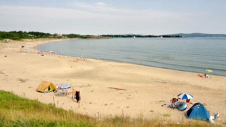 Плажът на Корал