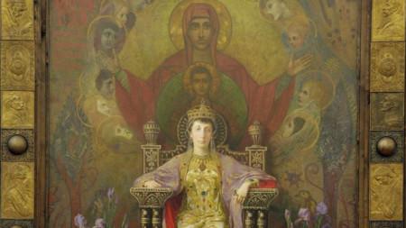 Портрет на Княгиня Мария Луиза от Иван Мърквичка, Национална галерия