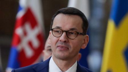 Полският премиер Матеуш Моравецки