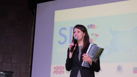 Дарина Георгиева – изпълнителен директор на Българската мрежа на Глобалния договор на ООН