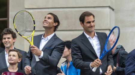 Над 50 хиляди зрители ще гледат Надал и Федерер в РЮА.