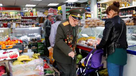 Делът на разходите за храна е много по-висок отколкото в страни със съпоставим с руския брутен вътрешен продукт.