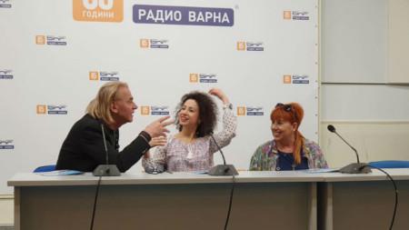 Н.Сотиров, В.Делчева, Д.Шопова