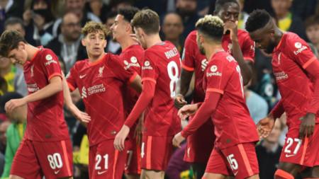 Ливърпул победи като гост Норич с 3:0