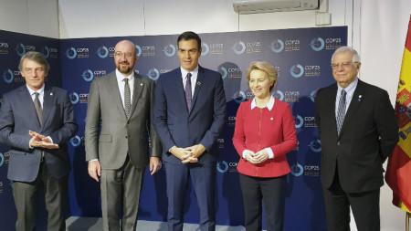 Откриване на срещата на високо равнище по климата COP25 в Мадрид.