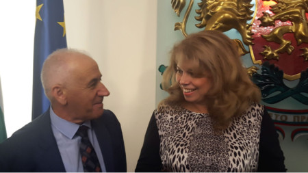 Selim Hoxhaj me Nënpresidenten Ilijana Jotova