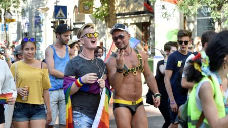 Гей парад в Будапеща