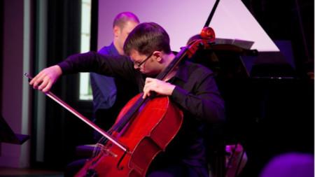 Борис Недялков на сцената