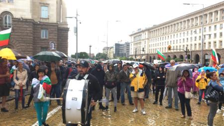 Десети антиправителствен протест в София