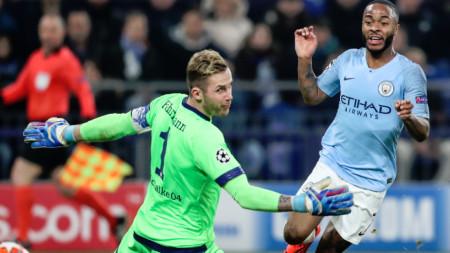 Манчестър Сити с победа над Шалке с Шампионската лига