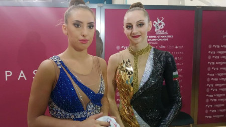 Катрин Тасева и Боряна Калейн
