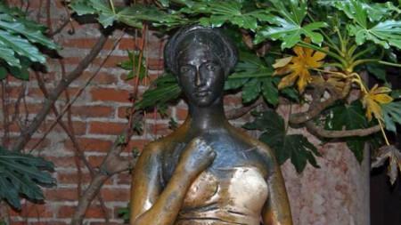 Верона, гърдата на Жулиета