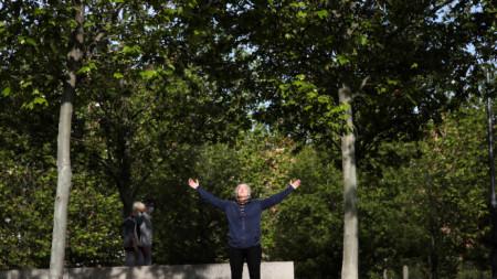 Аеробика в Мадрид, 2 май 2020 г.