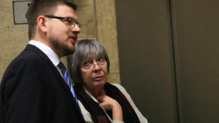 Иван Брегов от правната програма на Института за пазарна икономика и адвокат Здравка Калайджиева