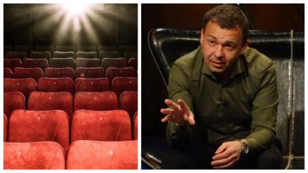 Кинокритикът Деян Статулов.