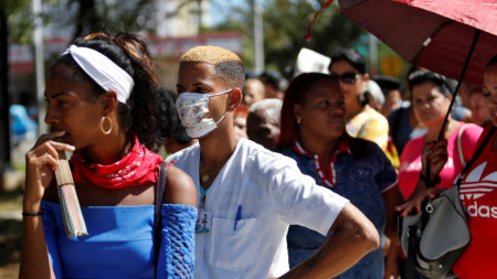 Първият случай на Covid-19 в Куба бе регистриран на 12 март.