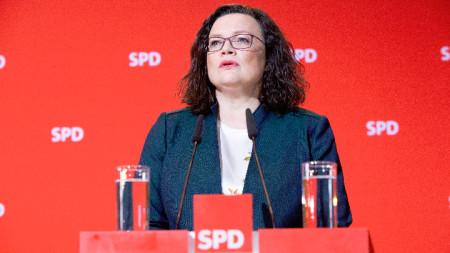Андреа Налес - лидер на ГСДП