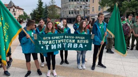 Участници в похода от Враца