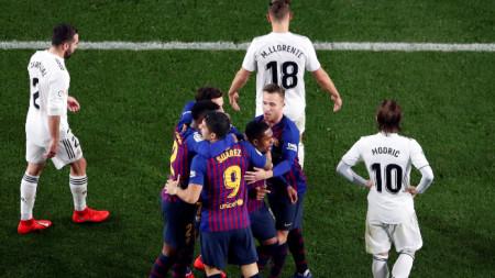 Барселона и Реал ще играят на 18 декември.