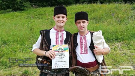 Димитър Арнаудов и Йордан Палагачев