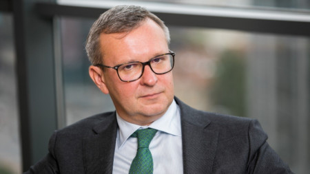 Мантас Залаторюс - председател на Асоциацията на банките в Литва